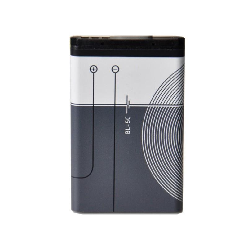 10 Pcs/Lot wholesale battery OHD BL-5C BL5C BL 5C  1020mAh Batteries For Nokia 1112 1208 1600 2610 2600 3100 n70 n71