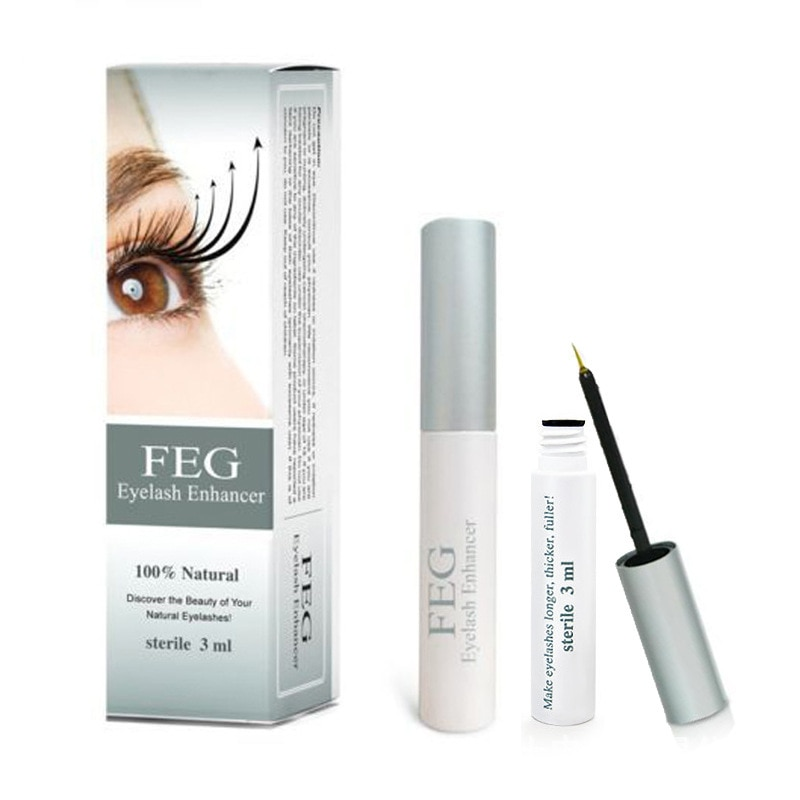 FEG Wimper Enhancer Serum Wimpern Wachstum Serum Behandlung Natürliche Eye Lashes Mascara Verlängerung Länger 100% Original