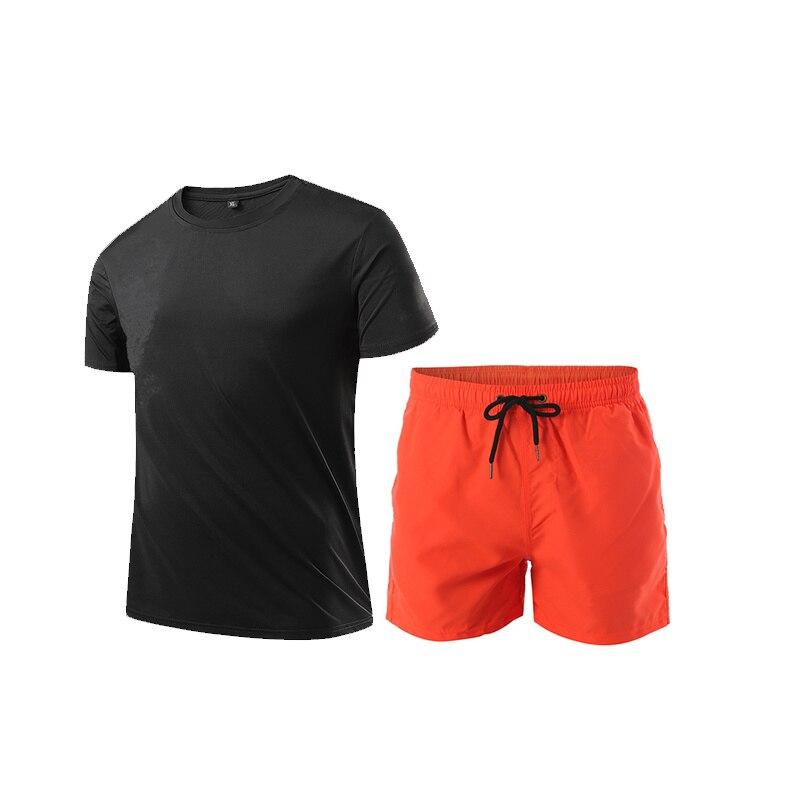Camiseta un juego de dos piezas de color de traje deportivo para...