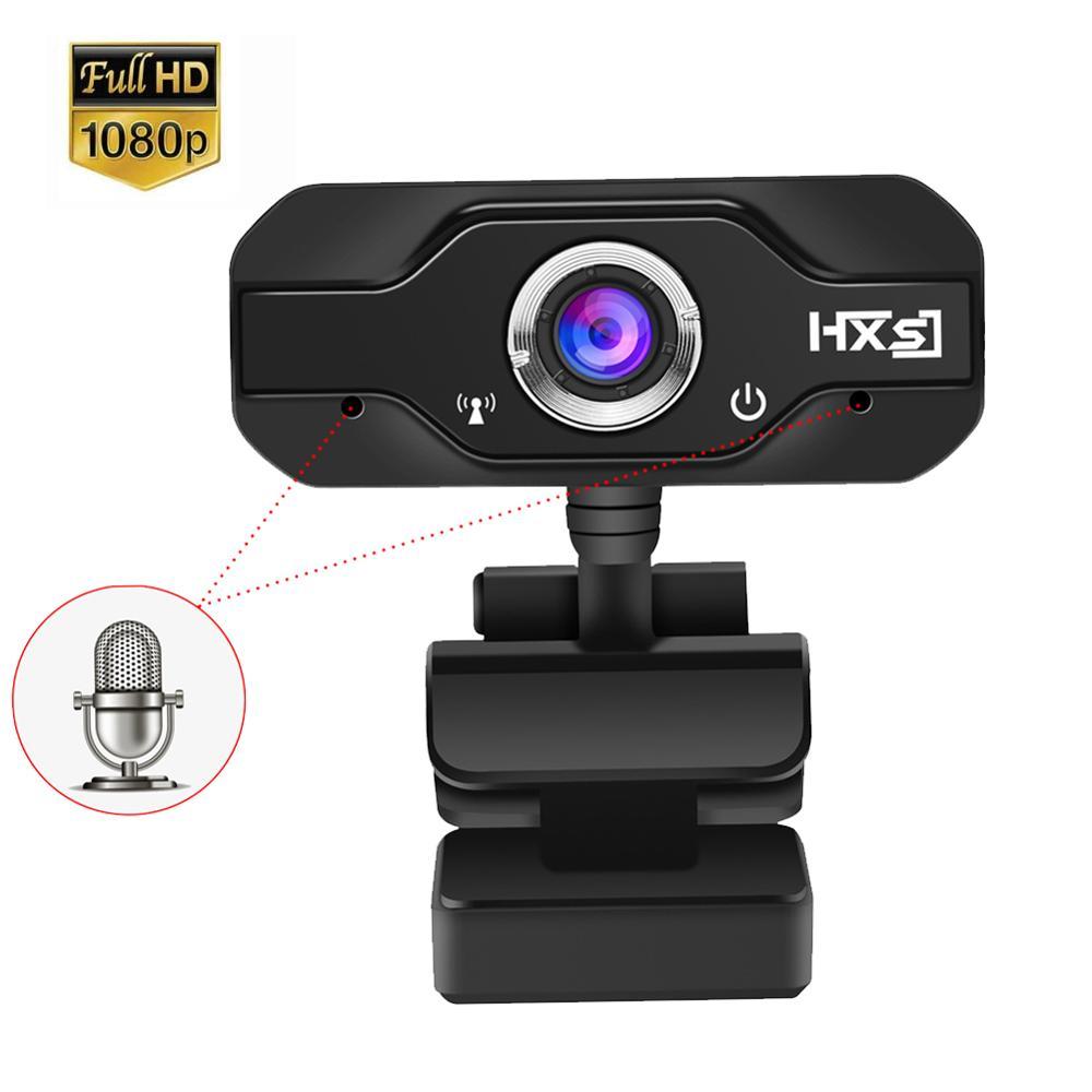 Full Hd 1080P Webcam Handmatige Focus Computer Camera Ingebouwde Microfoon Video Call Web Camera Voor Pc Laptop