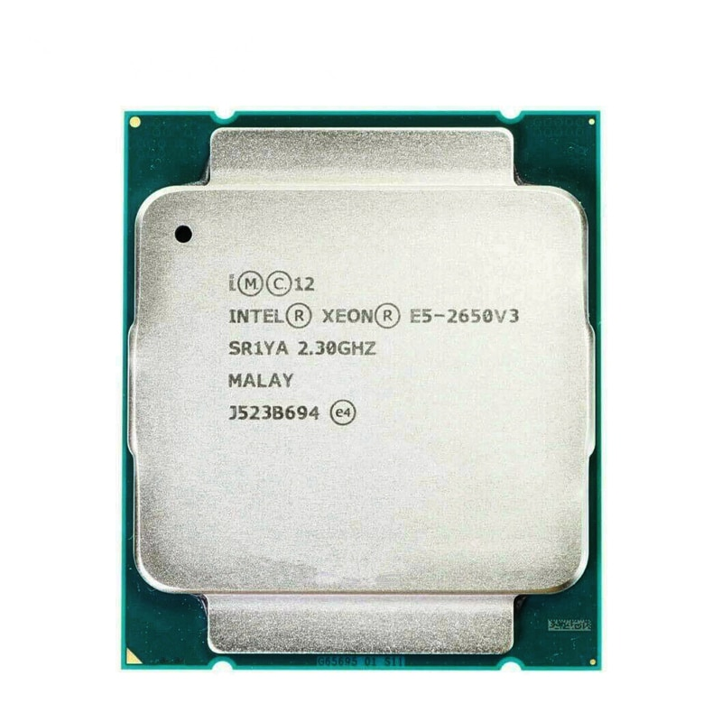 Процессор Intel XEON E5 2650 V3 2,3 GHz 10-ядерный 105W 25MB 22 nanometer Socket LGA 2011-3 CPU E5 2650V3 CPU поддерживает материнскую плату X99