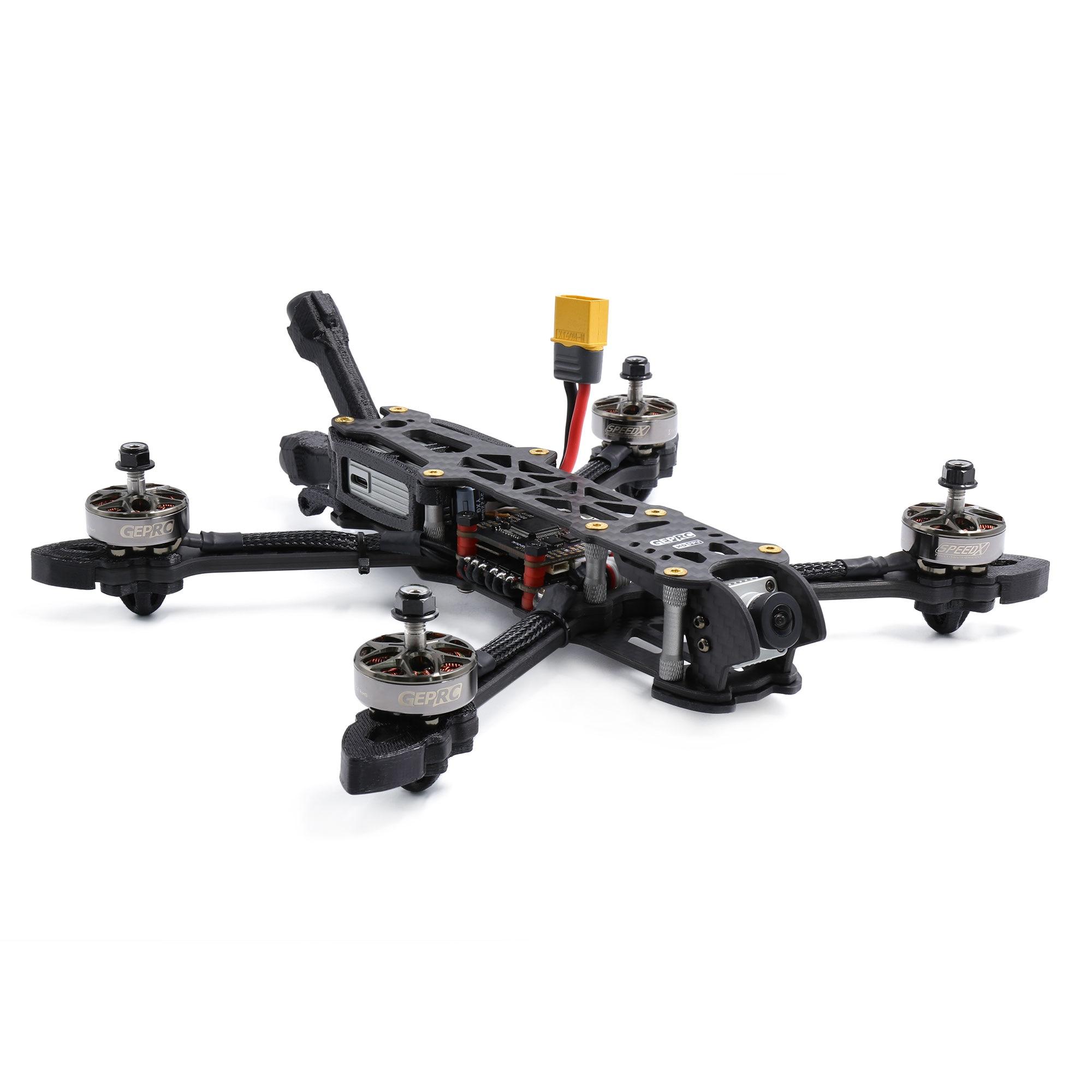 GEPRC Mark4 HD5 SPAN-F7-BT BLHeli_32 50A FPV الهواء وحدة GR2306.5 2450KV 4S 1850KV 6S 224 مللي متر 5 بوصة FPV سباق حرة Drone