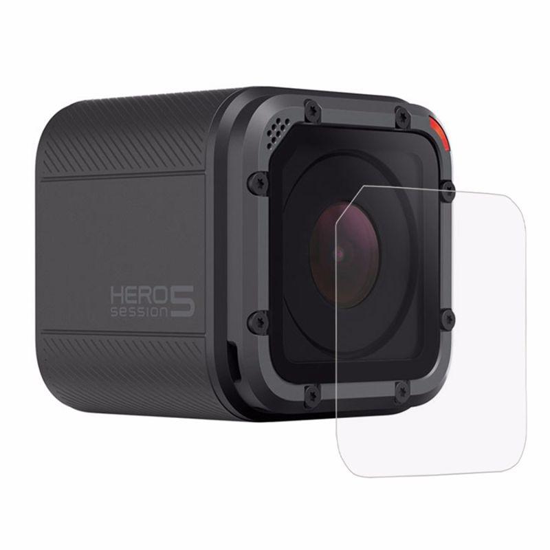 PULUZ para Go Pro, accesorios Protector de Pantalla DE LA Cámara para GoPro HERO5, sesión HERO4, lente de sesión 0,3mm, película de vidrio templado