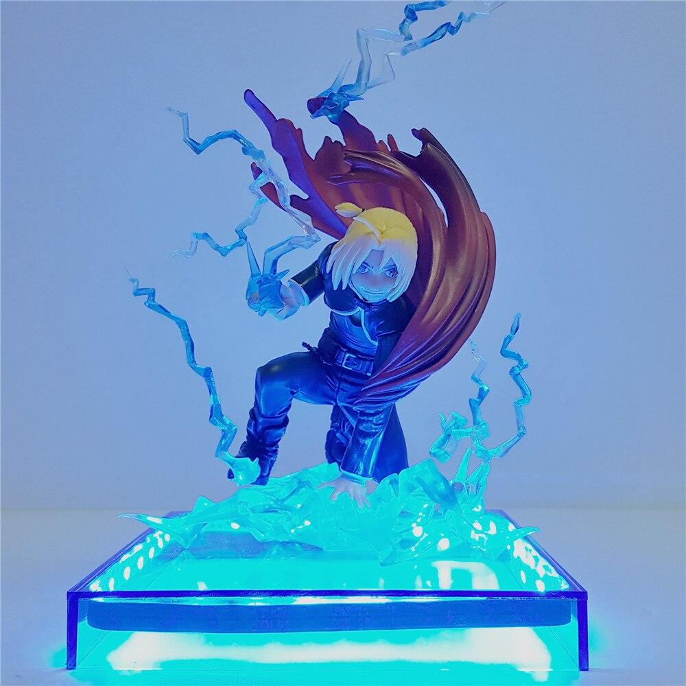kit de brinquedos personagens edward elares jogo com luz noturna 3d de led totalmente