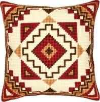 3d latch hook pillow lattice diy cross stitch kit cartoon girl embroidery pattern pillow button package
