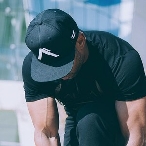 2021 European And American New Fitness Leisure Sports Outdoor Trend Duck-tongue Dome Cap Running Fitness Baseball Cap Free Size