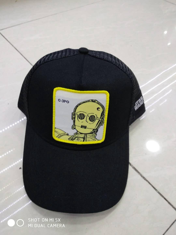 Nueva gorra de béisbol para hombres mujeres Star Wars Darth Vader Stormtrooper gorras Mandalorian gorra de béisbol sombrero de sol 53-59 cm