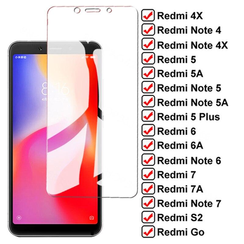 Protector de pantalla de vidrio templado 9D para Xiaomi Redmi 5 Plus,...