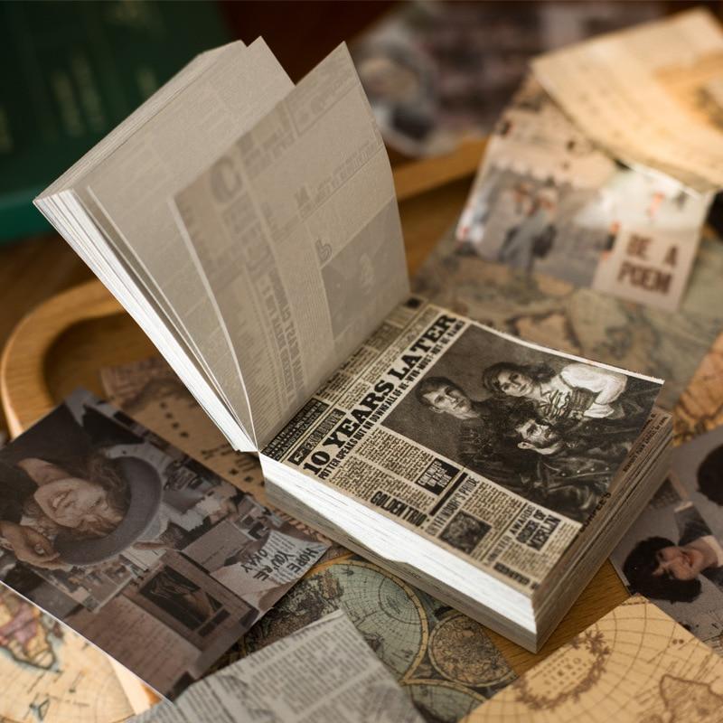 165-pcs-vintage-scrapbooking-materiale-carta-pianta-floreale-lettera-decorazione-per-art-project-scrapbook-journal-planner