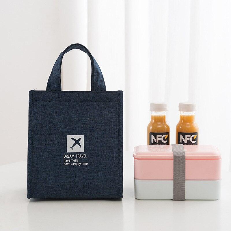 Сумка для ланча простая модная универсальная сумка для льда Водонепроницаемая изоляционная сумка прямые продажи с завода можно заказать л...