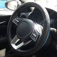 texture soft multi color soft silicon steering wheel car silicone steering wheel glove cover universal automobiles accessories