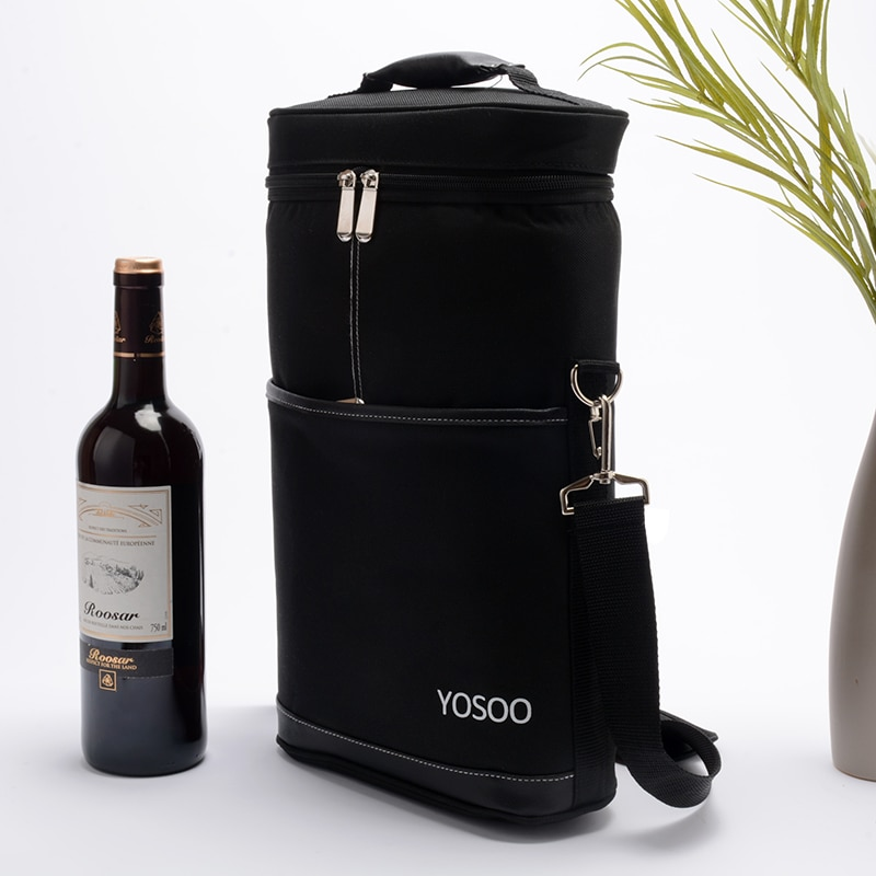 Oxford bouteille de vin congélateur sac étanche refroidissement refroidisseur glace sac bière refroidissement titulaire transporteur Portable sacs à vin