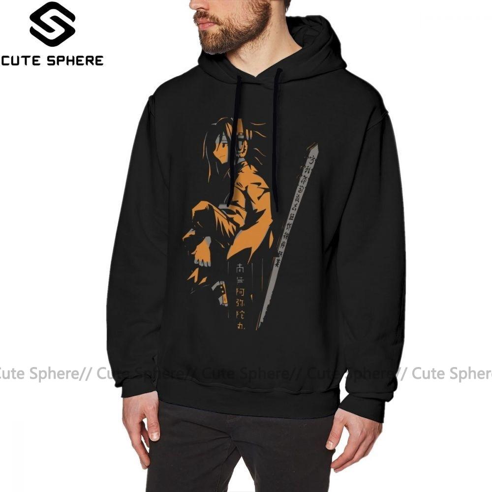 Xamã rei hoodie xamã rei yoh laranja hoodies oversize masculino pulôver hoodie longo outono algodão ao ar livre azul casual hoodies