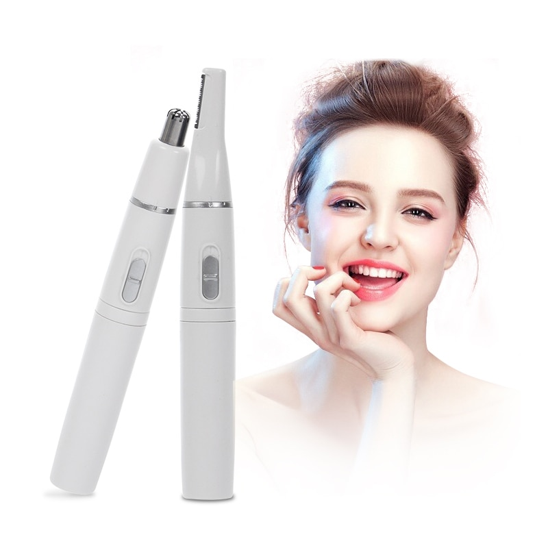 Ear Neck Nose Hair Trimmer Women'S Electric Shaver Mini Portable Women Body Shaver Remover Blade Raz