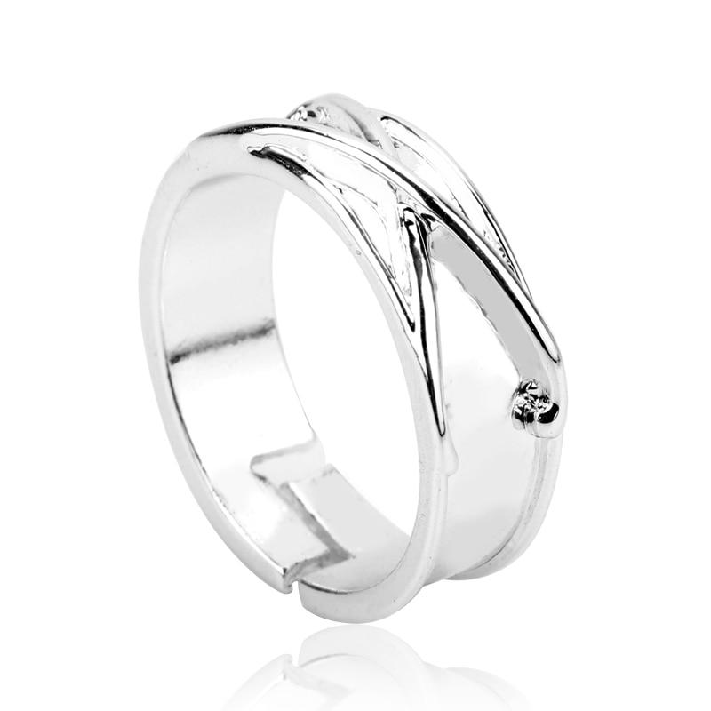 Zamasu Goku Black Time Ring Anime Rings Finger Ring Adjustable Ring For Men Women Jewelry Gifts Cosp