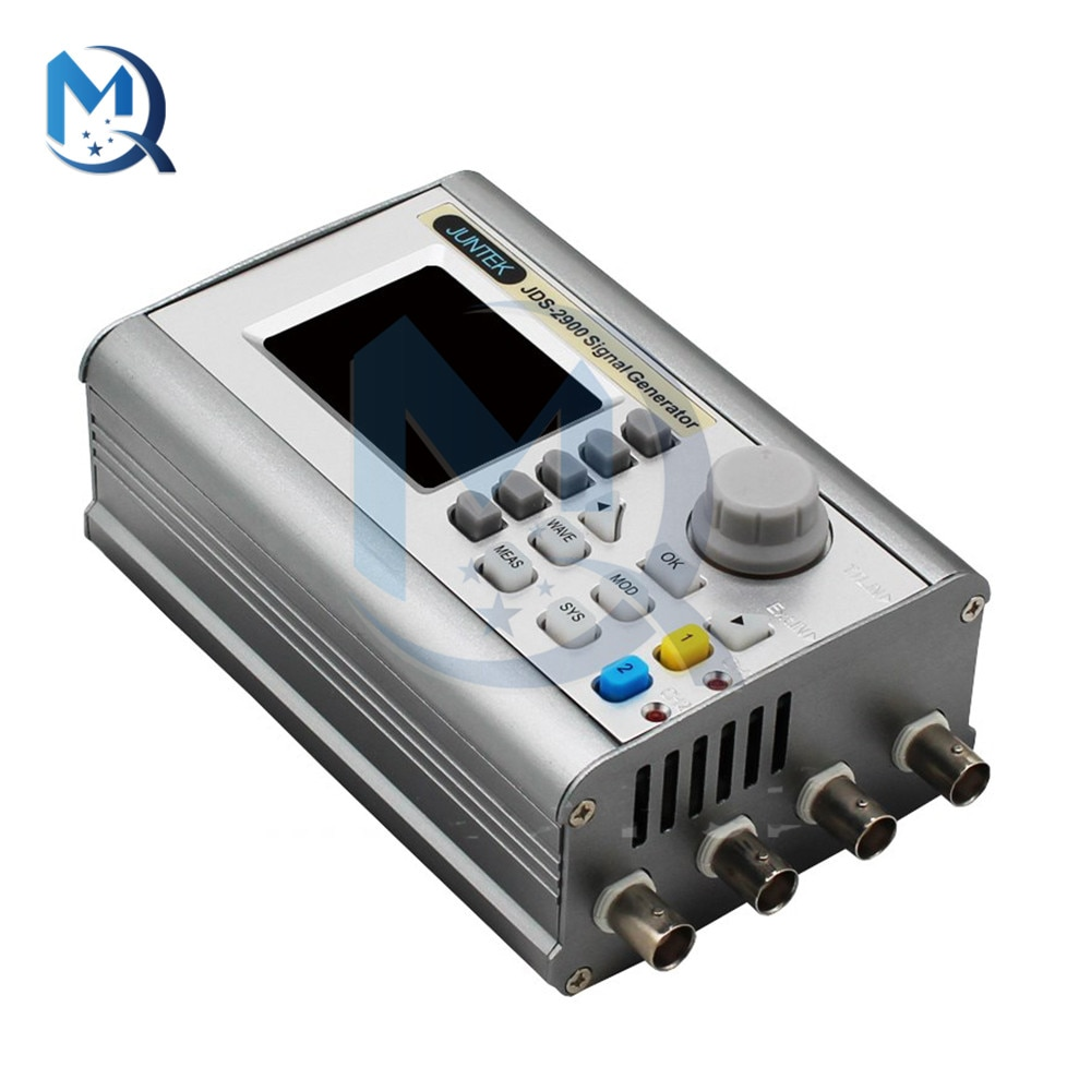 2.4 inch TFT Screen JDS2900 Function Generator Kit JDS2900-40MHz DC 5V DDS Function Arbitrary Wave Signal Generator Dual Channel