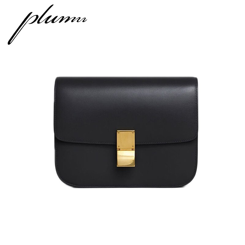 Plumn حقائب نسائية حقائب كروسبودي للنساء جلد حقيبة كتف قطري صندوق مربع صغير