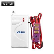 KERUI 433MHz Wireless Water Leakage Sensor Home Security Water Leak Alarm Detector For KERUI Alarm System W18 W20 K52 G18