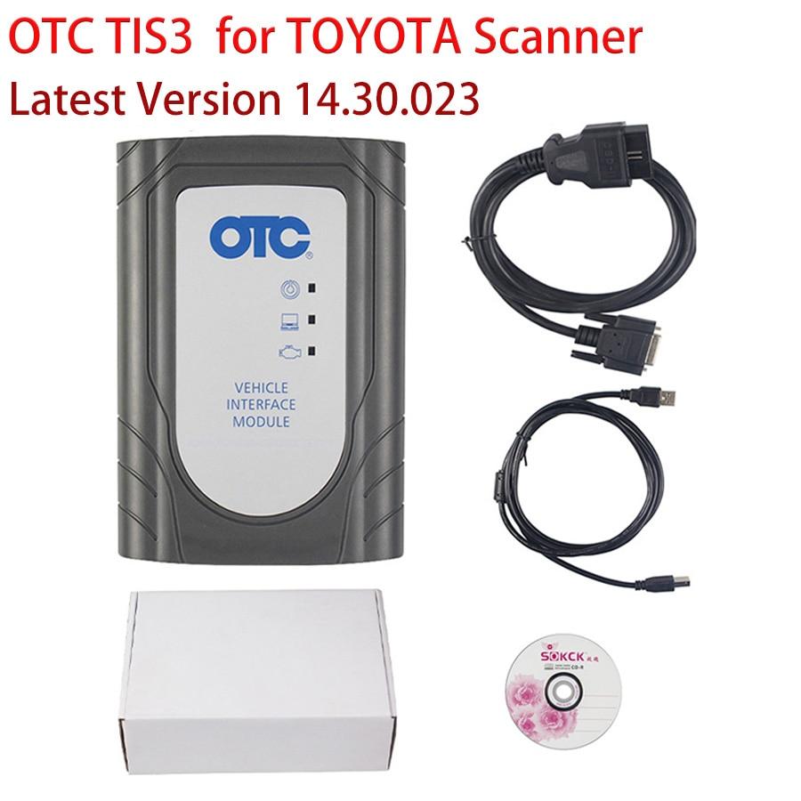 Escáner V14.30.023 Global Tech Stream GTS OTC tis3 para Toyota IT3 GTS, actualización OTC por ToyoYa IT2, envío gratis, precio de fábrica