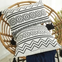 boho cushion cover 30x50 geometry pillow case for living room sofa home decor pillow covers 45x45 decorative cushion cover