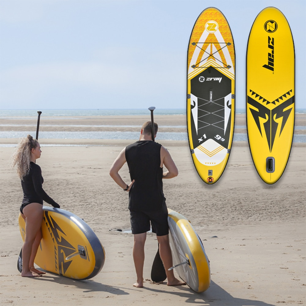 2021 Stand-Up Paddle Board Surfing New Size 297*81*15cm Inflatable Water Sports Surfboard Yoga Fitness Balance Floating Board