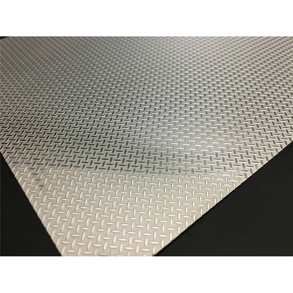 20*15cm Stainless Steel Anti-skid Plate for Tamiya 1/14 Scania R470 R730 R620 56323 MAN Benz 1851 ACTORS RC Tractor Accessories enlarge