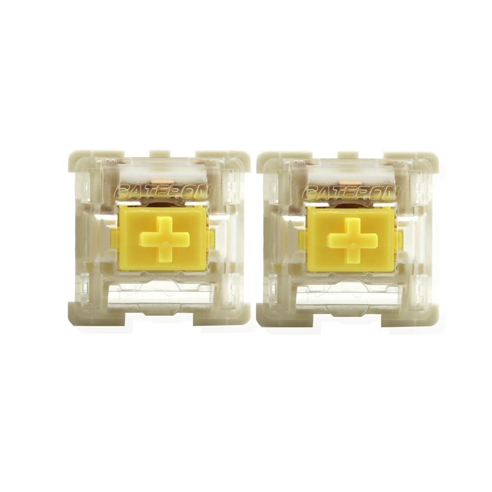 Interruptor Gateron KS - 9 Led bajo brillo Compatible con teclado mecánico MX interruptor LED SMD de 3 pines