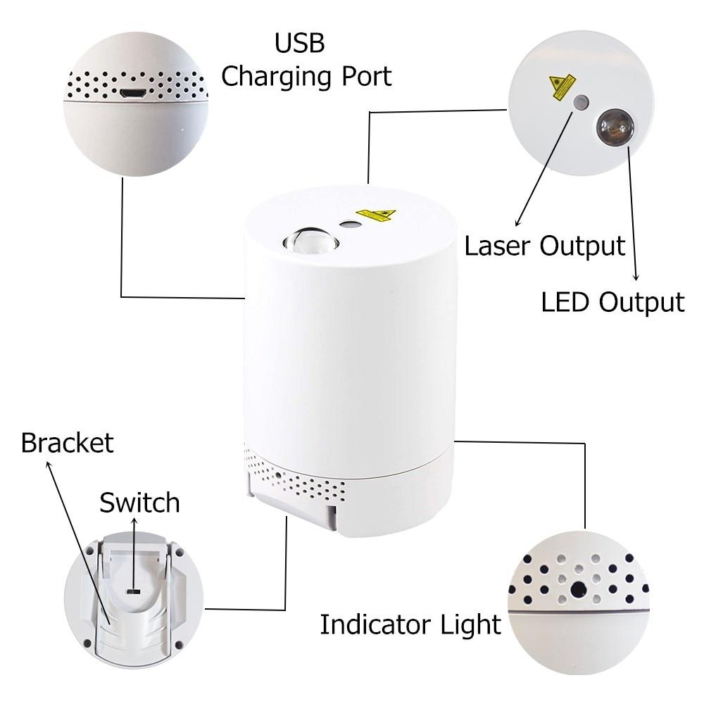 Galaxy Projector LED Night Light Starry Sky Laser Projector Nebula Light Children Night Lamp Bedroom Decor Star Projector enlarge