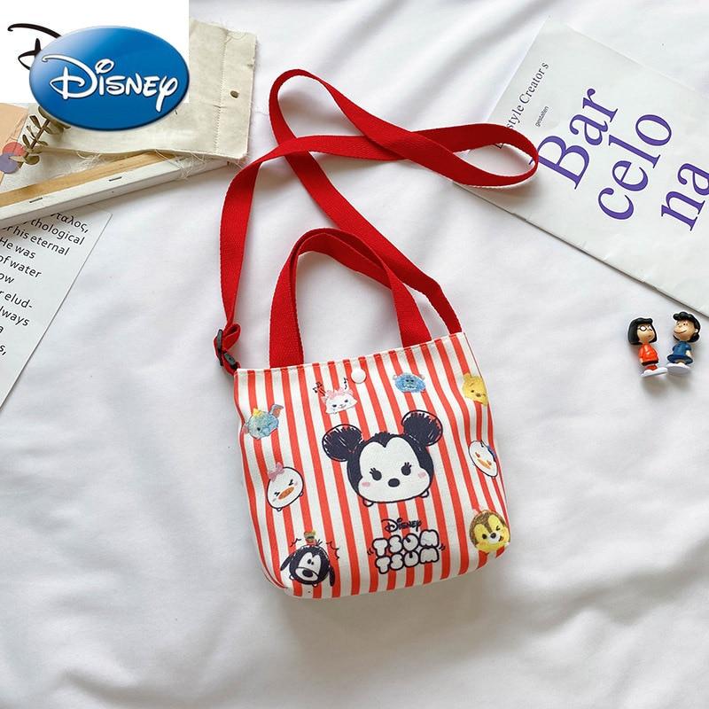 Дисней детская модная Наплечная Сумка; Трендовая сумка с милым рисунком Минни многоразовая сумка для покупок на холсте, модная сумка в руку,... printio сумка с абстрактным рисунком