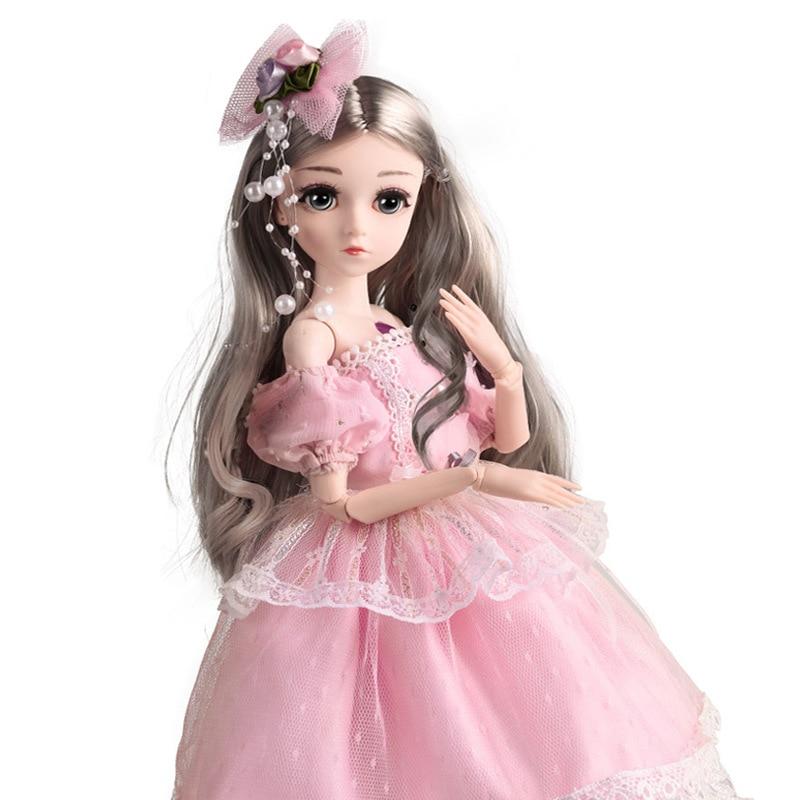 Muñeca Bei Ling Barbie Single Girl Bjd, simulación de articulación de princesa...