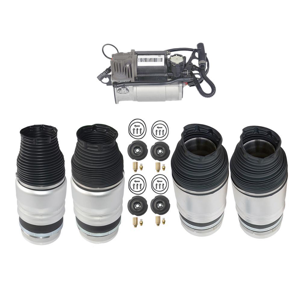 AP01 para Audi Q7 4 Uds aire suspensiones y 1 Uds bomba de compresor de 7L6616403B 4154033050, 2007-2016