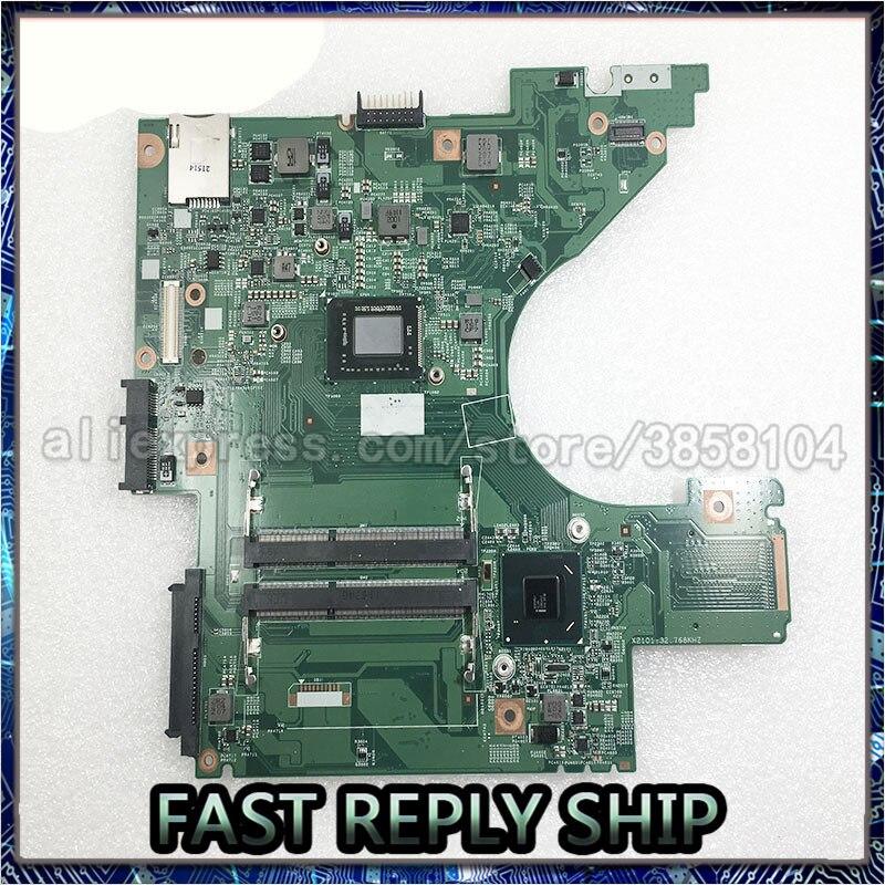 SHELI para Dell V131 Laptop KY69Y 0KY69Y DN1 MB 48.4IM02.011 CPU i3-2330M placa base gráfica integrada, totalmente probada