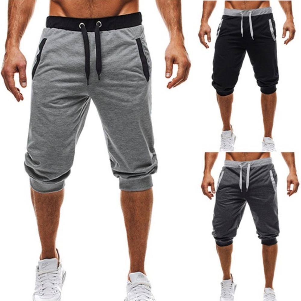 Summer Casual Shorts Men  Cool Men's Sportswear Short Hot Sale  Casual Sweatpants Jogger Breathable Trousers Boardshorts Man
