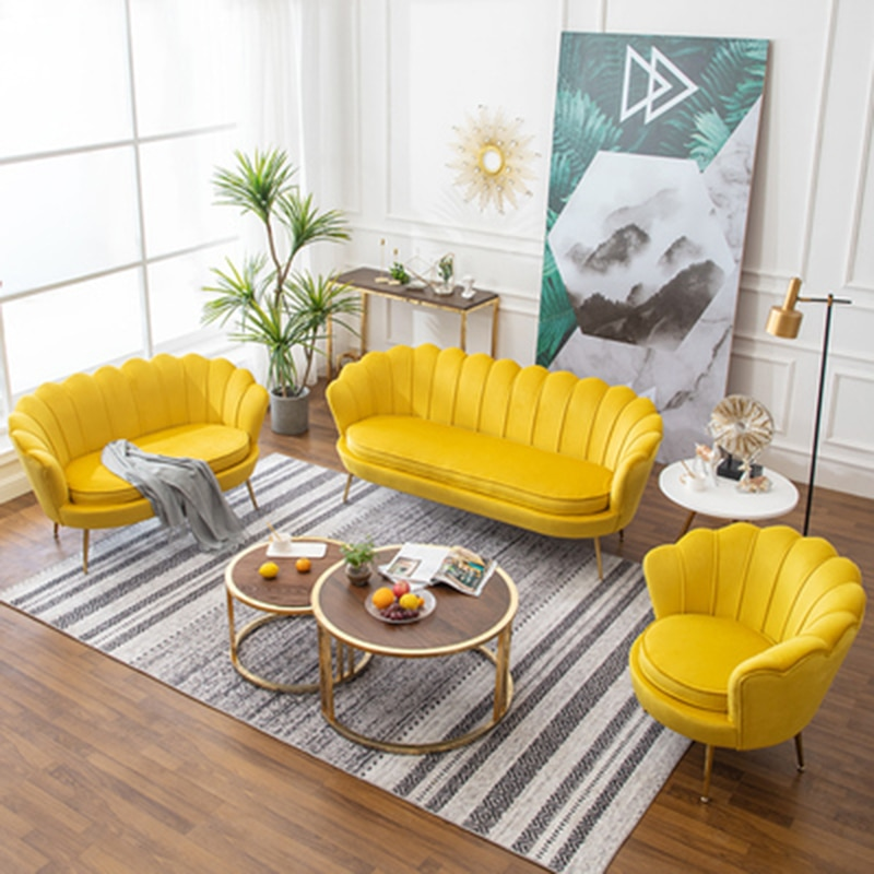 Домашняя мебель для гостиной, современный минималистичный диван-стулья, легсветильник Роскошные одиночные диваны, нордическое кресло для ...