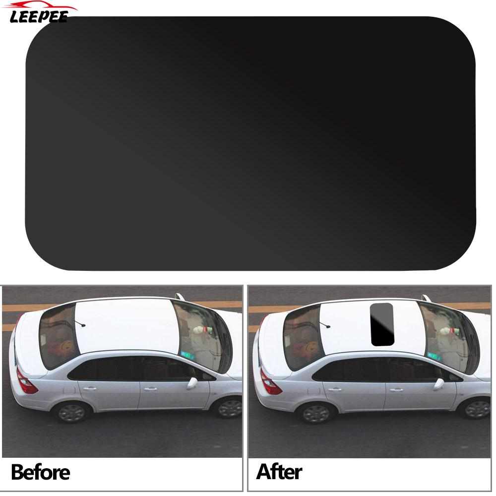 Car Sticker Auto Simulation Panoramic Sunroof Waterproof with 3M Decorative Strip Auto Decal PVC Personalized Stickers