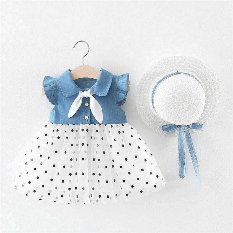 Chantalbaby gratis sombrero nuevo verano niña ropa Correa arco chaleco conjunto Bebé Ropa traje Niñas Ropa
