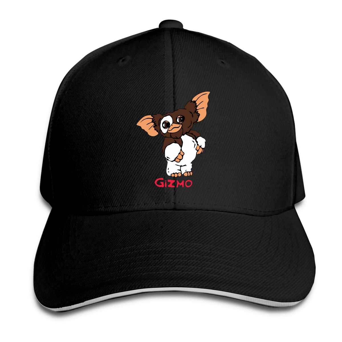 Gizmo Slim Peaked Cap Cotton Cap  Snapback Hat Summer Cap Hip Hop Fitted Cap baby yoda star war Mandalorian Coast Hats