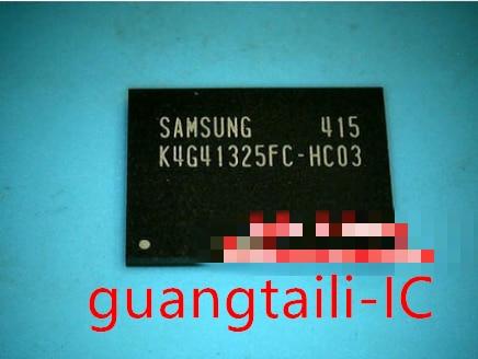 4 قطعة K4G41325FC-HC03 K4G41325FC-HC04 K4G41325FC-HC28 K4G41325FE-HC25 K4G41325FE-HC28 بغا IC الرقاقات جديد الأصلي الأسهم