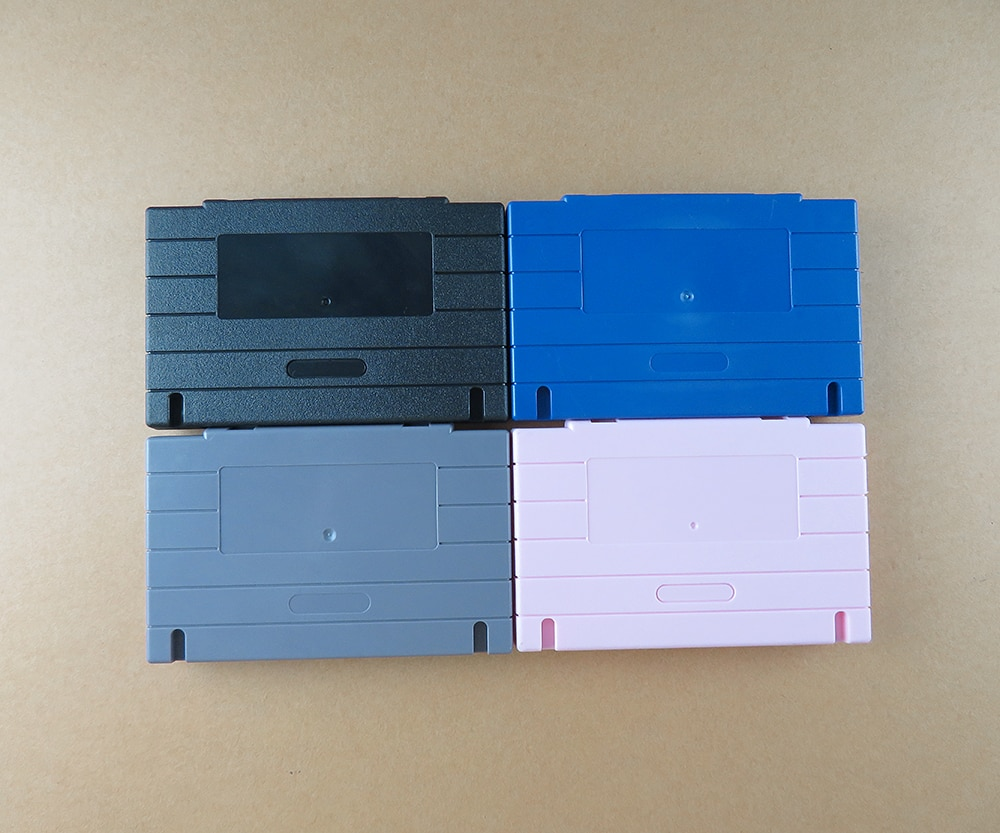 OCGAME US version Game Cartridge Card Plastic Shell For SNES SFC game Console card 16bit game 3 kinds of colors available