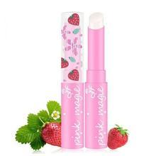 1 pièces mignon fraise baume à lèvres changement de température couleur hydratant baume rouge à lèvres imperméable à leau longue durée hydratant TSLM1