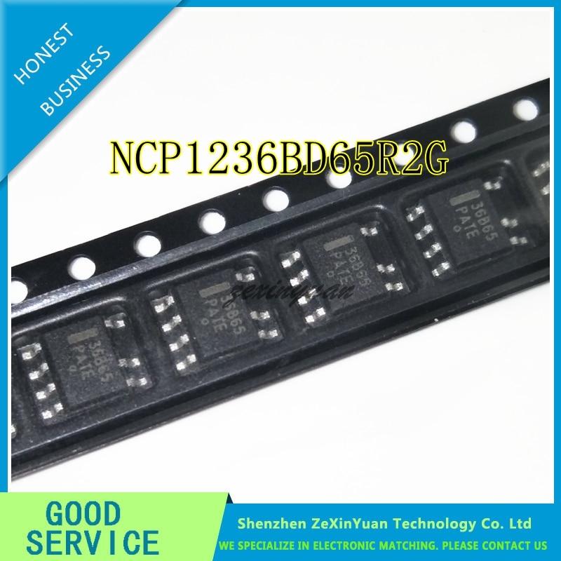 10PCS/LOT 36B65 36865 NCP1236BD65R2G SOP-7