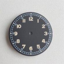Para Mingzhu 2813 Movimiento 30mm Dial con reemplazo luminoso para Miyota 8215 8200 821A accesorios de movimiento de reloj