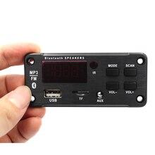 Auto MP3 Decoder Audio Board Bluetooth 5.0 DC 12V USB Voeding WMA WAV FLAC APE Formaat TF FM radio MP3 Speler Afstandsbediening