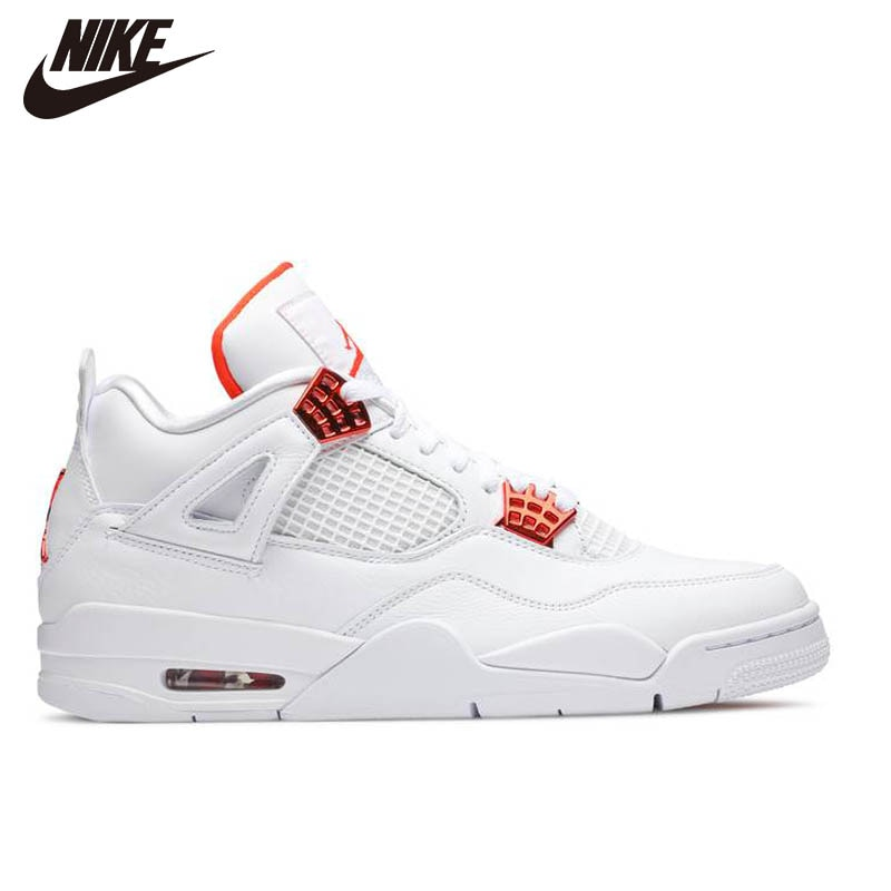 Air 4 AJ4 Metallic Red White Red Couple Basketball Shoes CT8527-112