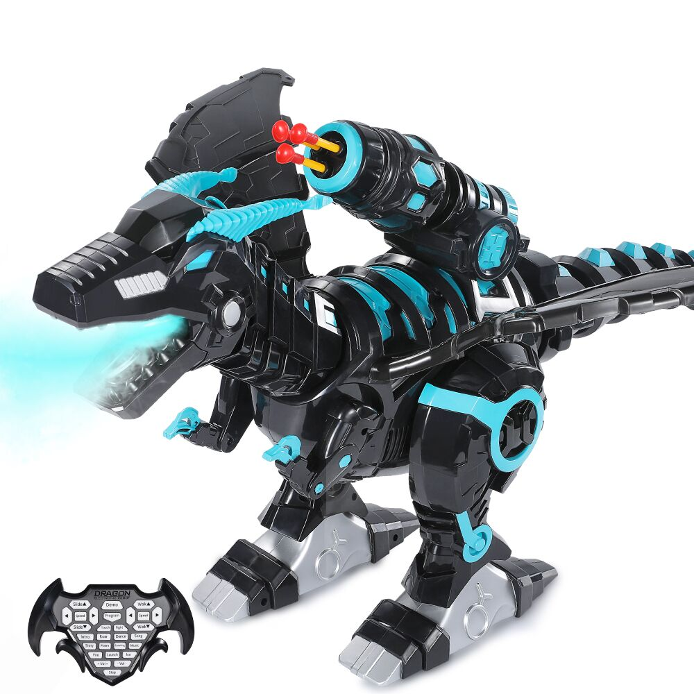 Mist Spray Remote Control Dinosaurs Toys Electric Dinosaur RC Robot Animals Educational Toys for Children Boys Gifts enlarge