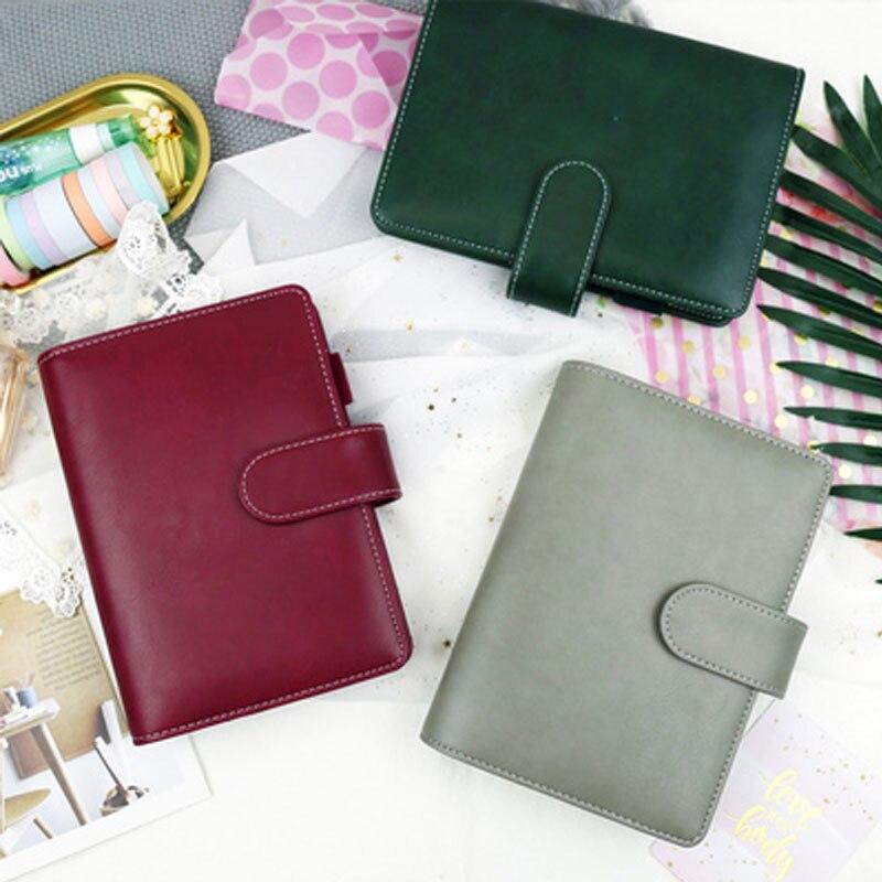 Yiwi PU кожаный спиральный ноутбук оригинальный офисный личный