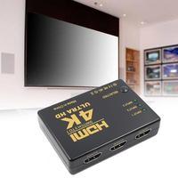 Видеопереключатель 1080P 4K * 2K, сплиттер-концентратор для DVD, выходной порт HDTV, вход 3, PS4, PS3 1, совместим с HDMI