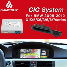 Smartour Decode Track Box For BMW CIC System 2009-2012 X5 Original Screen Update System Reversing Module +Rear view camera