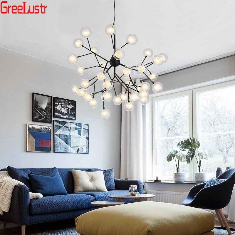 مصباح سقف Led معلق حديث ، تصميم شمالي ، إضاءة داخلية ، إضاءة سقف زخرفية ، مثالي للدور العلوي أو غرفة المعيشة.