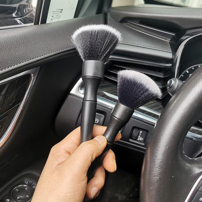 2 шт./комплект, щётки для чистки автомобильного кондиционера